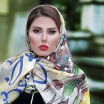 روسری ساتن تک رنگ
