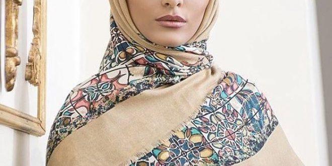 شال و روسری طرح ورساچه
