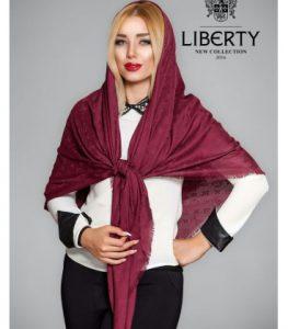 روسری نخی قواره بزرگ تک رنگ