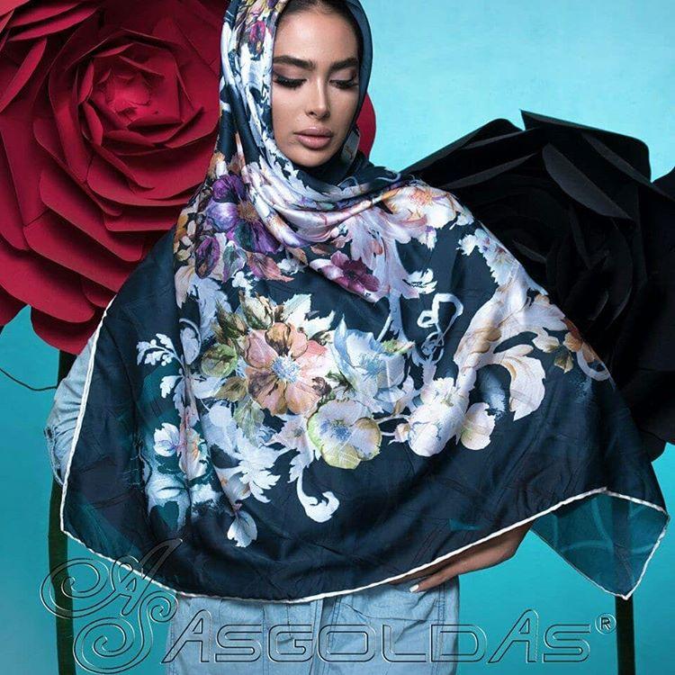 روسری مامی ابریشم