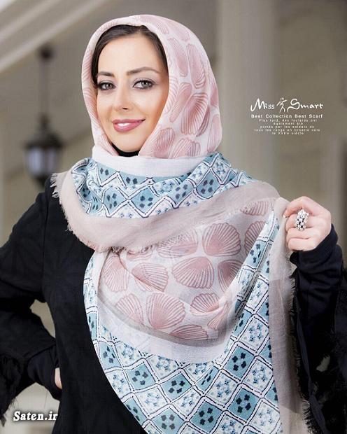 روسری نخی دور دست دوز