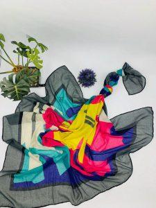 روسری نخی چهار فصل