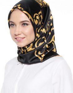 روسری ساتن ساده