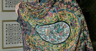 خرید روسری نخی قواره بزرگ ارزان