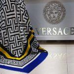 روسری نخی طرح versace