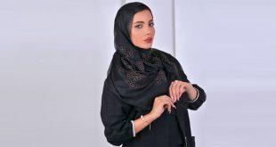 روسری حریر مجلسی