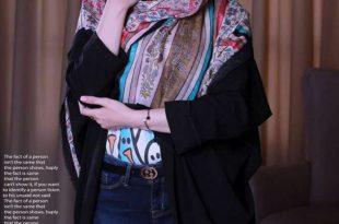 روسری قواره 140 نخی
