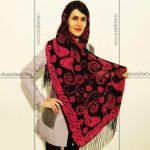 روسری نخی طرح سنتی