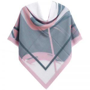 روسری ساده رنگی