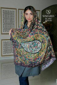 روسری سنتی نخی
