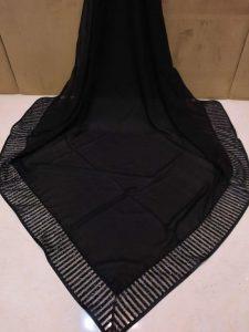 روسری ساده مجلسی