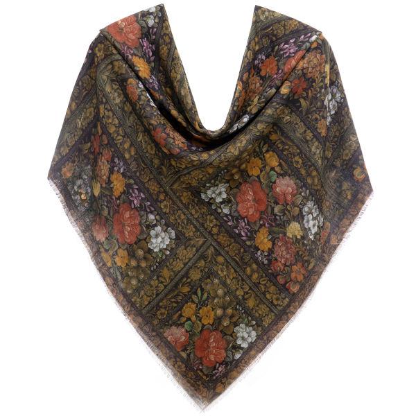 روسری نخی پاییزه
