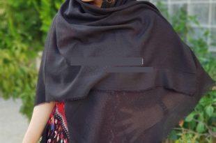 روسری نخی ساده