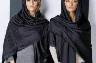 روسری مشکی ایرانی